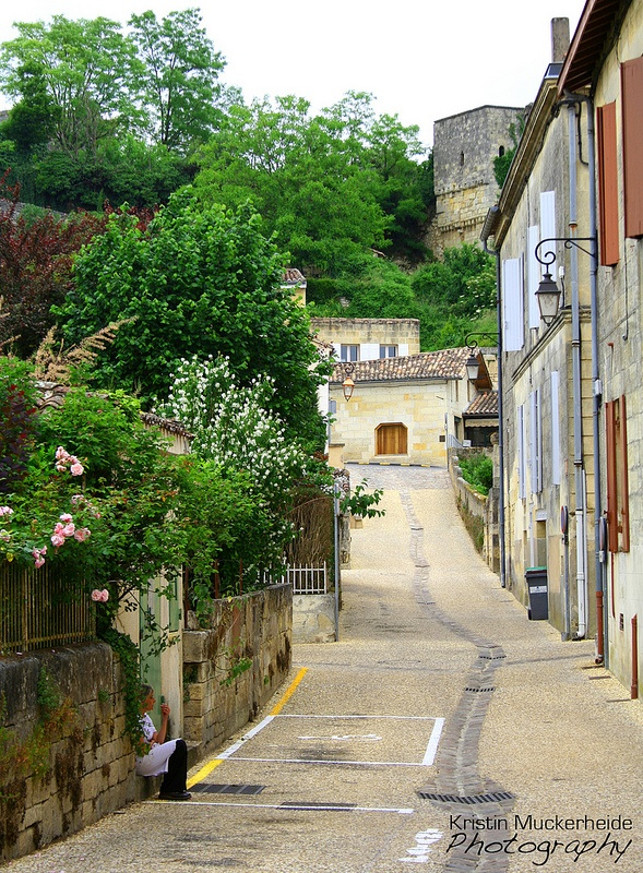 Rural French Wine Town by KMuckerheidePhotography, via Flickr. http://www.etsy.com/listing/97290787/rural-french-wine-town-st-emilion-france