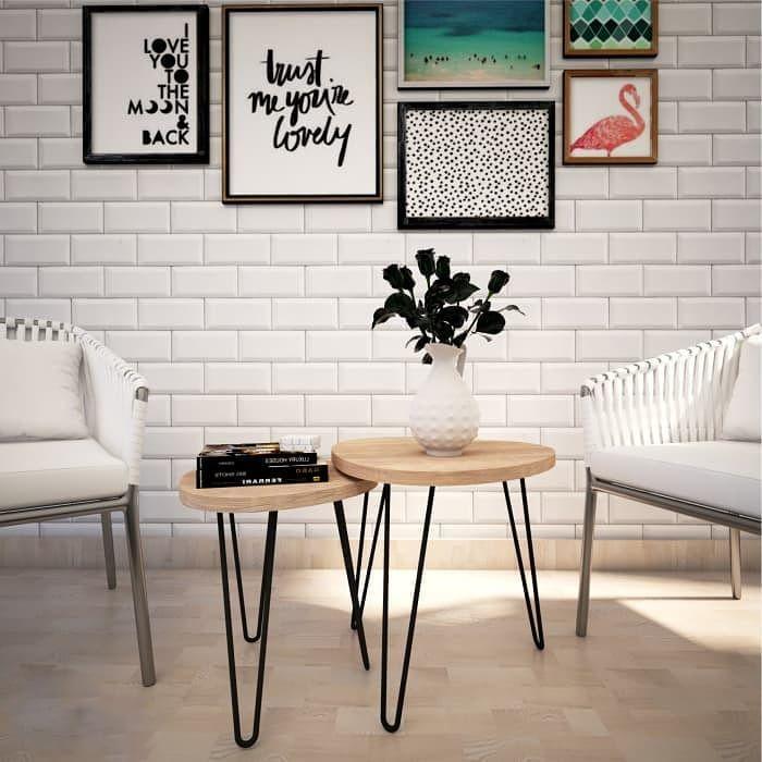Tambahkan Sesuatu Yang Unik Pada Rumah Anda Meja Bulat Cantik Pas Dengan Vas Bunga Diatasnya Siap Memp Decoracion De Hogar Hecha A Mano Decoracion Hogar Hogar