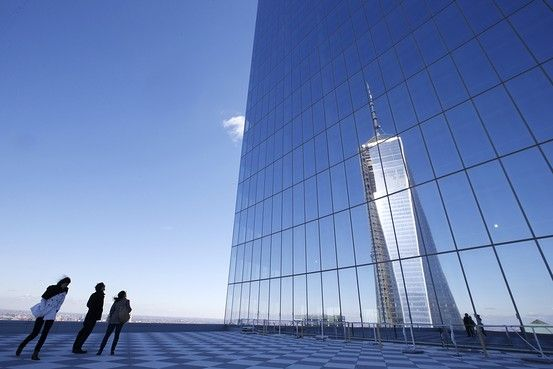 One World Trade Center, now officially the tallest building in the Western Hemisphere, has dominated the headlines about the 16-acre site's redevelopment, but this week, attention turns to its sister tower, the 977-foot-tall 4 World Trade Center, which officially opens its doors tomorrow.