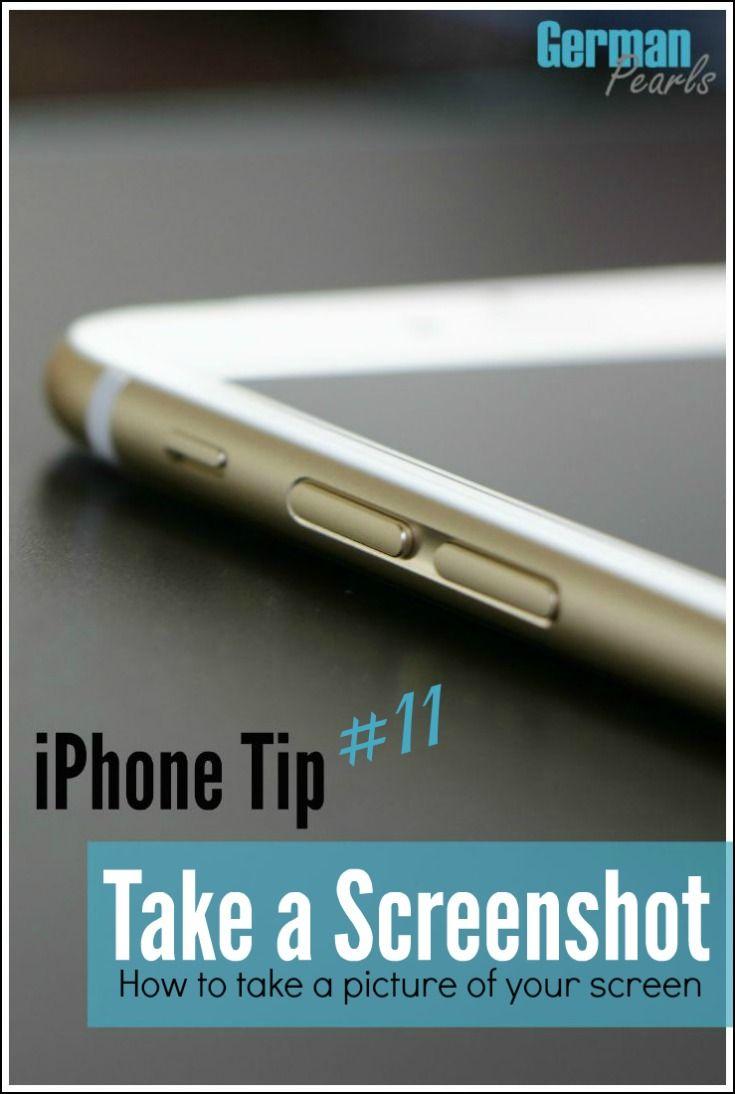 iPhone Tip #11 - Take a Screenshot of your iPhone or iPad