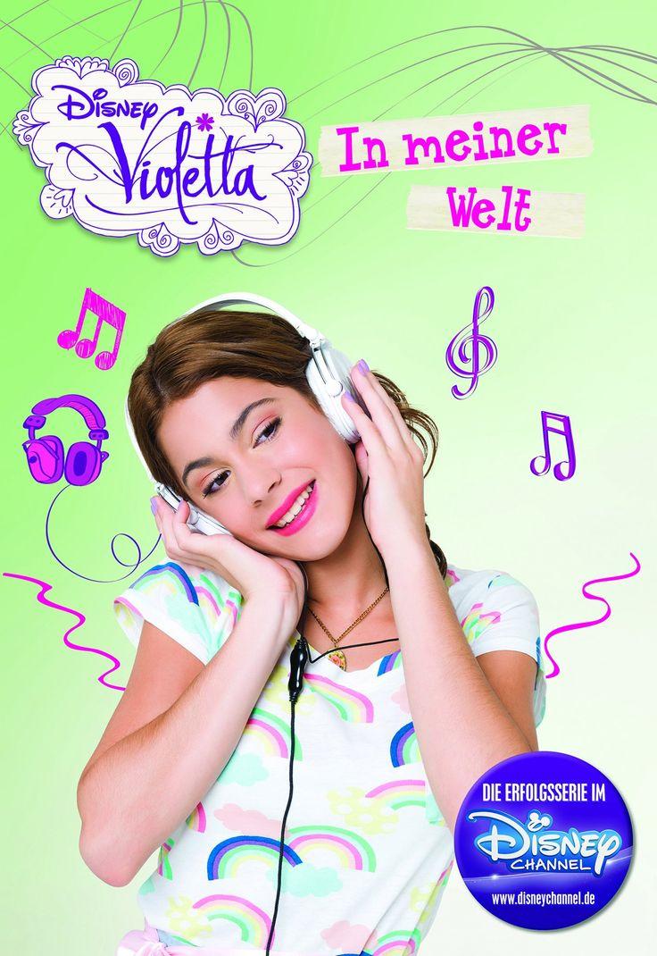 Violetta: In meiner Welt (Basierend auf der TV-Serie): Amazon.de: Parragon: Bücher