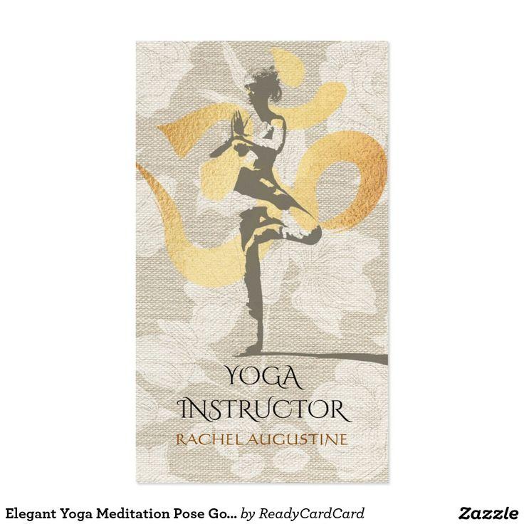 56 best yoga visitenkarte images on Pinterest   Visit cards ...