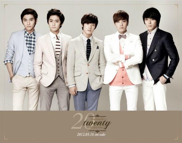 FT Island album japonais Twenty