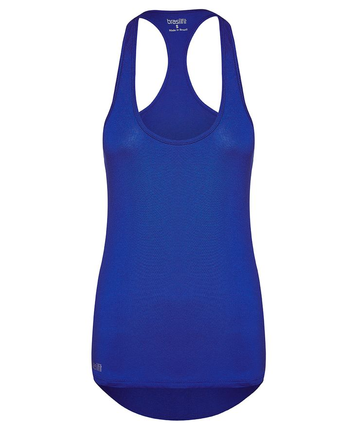 Singlet resort: a loose fitting long tank with the back longer than the front perfect for rear coverage.  Pairs well with all brasilfit compression leggings.  Check out various colors available at www.brasilfitusa.com