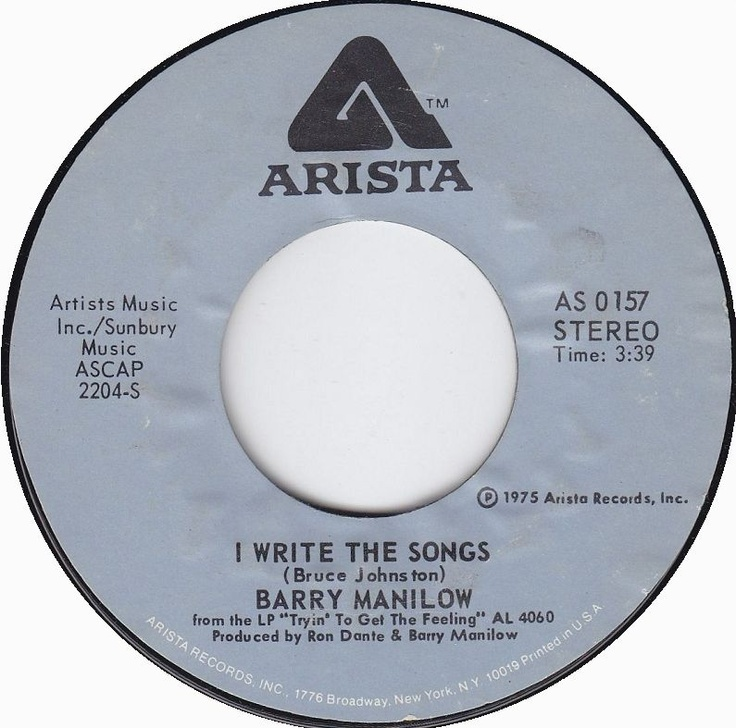 i write the songs barry manilow I write the songs chords by barry manilow learn to play guitar by chord and tabs and use our crd diagrams, transpose the key and more.