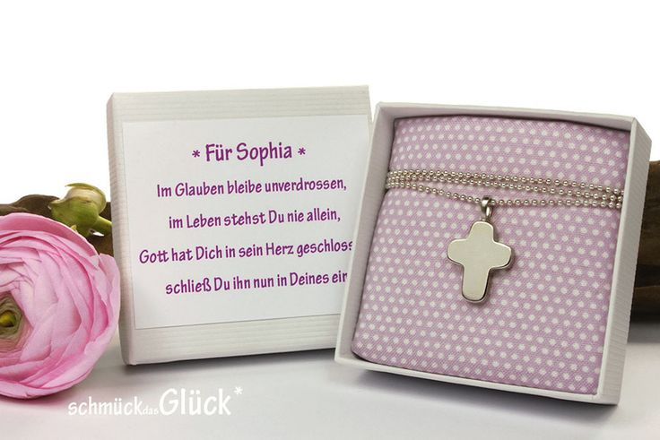 Kreuz+Anhänger+Silber+mit+individueller+Verpackung+von+schmückdasGlück+*+auf+DaWanda.com