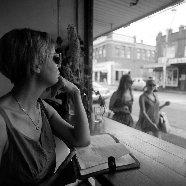 cafe watching