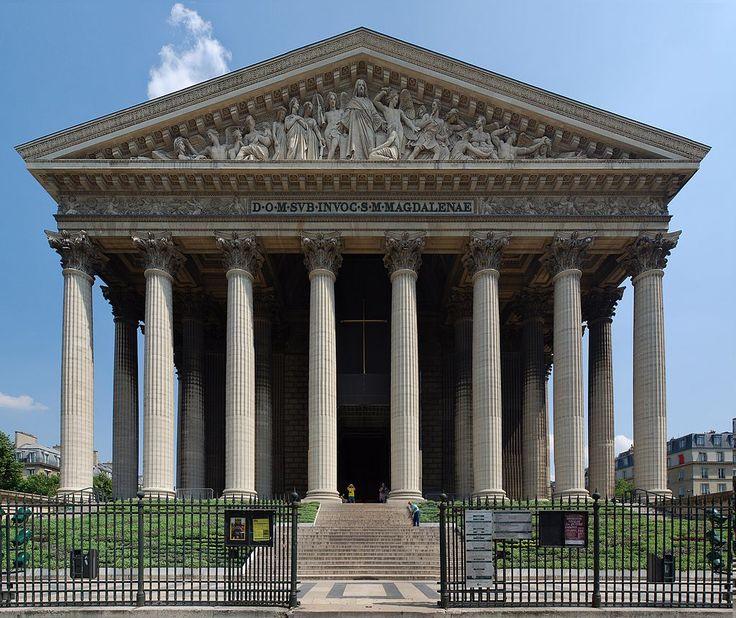 Église de la Madeleine 3753x3156 - Церковь Мадлен — Википедия