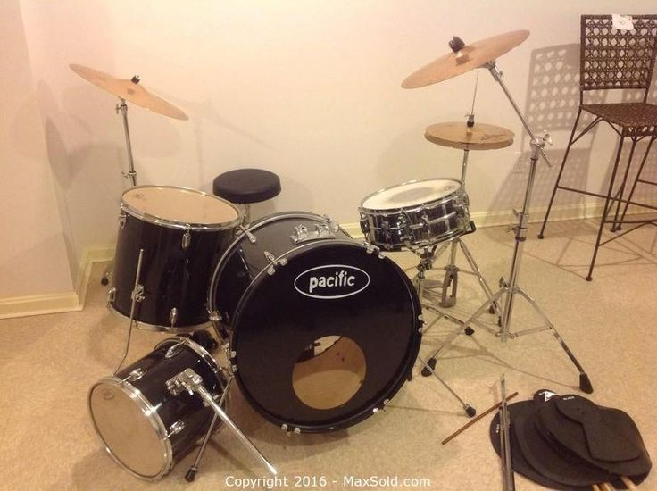 PACIFIC Drum Set Sold on MaxSold for $305