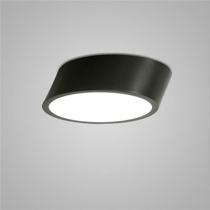 LEDシーリングライト 照明器具 リビング照明 寝室照明 天井照明 おしゃれ照明 黒白色 LED対応 H13cm