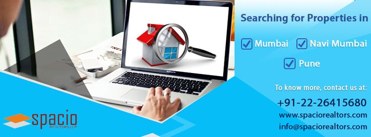 Where are you searching for #properties in #Mumbai, Navi Mumbai #Pune? We have a wide reach to help our clients meet their desired #property expectations with minimal effort. Contact Us to get the right solution.  #BuyPropertyOnline #PropertyInMumbai #PropertyinPune #SpacioRealtors