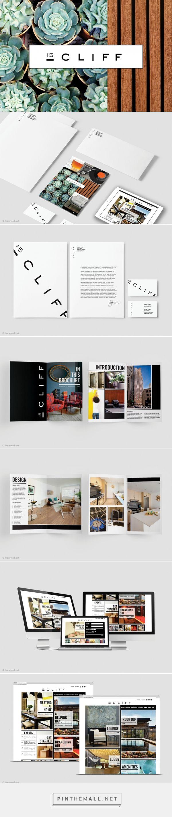 15 Cliff Residential Branding by The Seventh Art LLC   Fivestar Branding – Design and Branding Agency & Inspiration Gallery