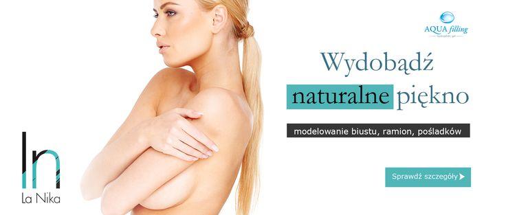 Niechirurgiczne powiększanie piersi http://www.la-nika.pl/zabiegi/aquafilling-bodyline.php #powiekszaniepiersi #kwashialuronowy #lanika #breastaugmentation