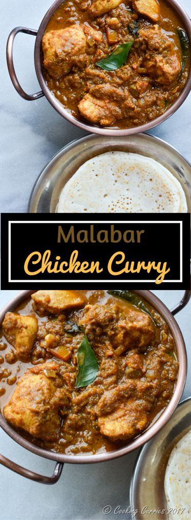 Super Yum Malabar Chicken Curry Recipe @ @cookingcurries Indian Food, Kerala Food Recipes via @sunjayjk