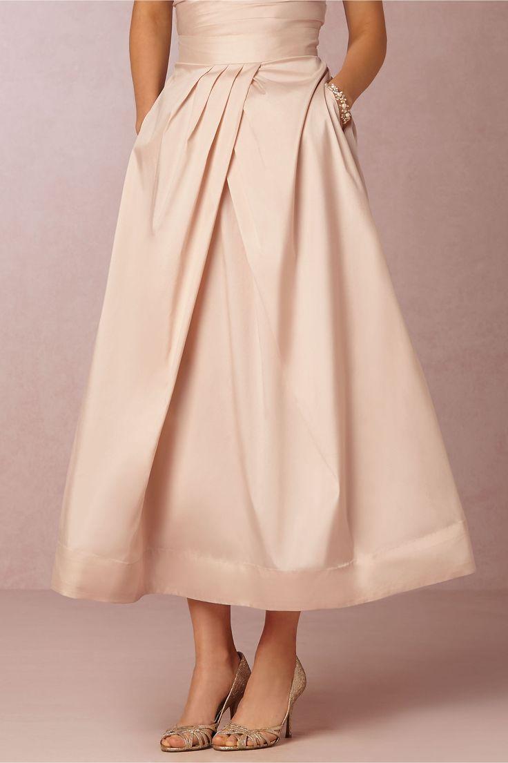 102 best bridesmaid dress inspiration images on pinterest bhldn salene taffeta skirt in bridal party bridesmaid separates ombrellifo Choice Image