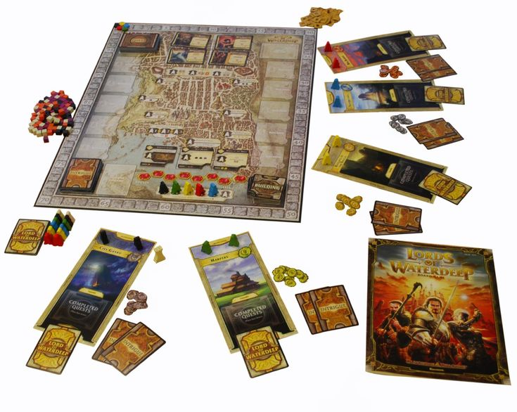 Lords of Waterdeep: A Dungeons & Dragons Board Game: Wizards RPG Team: Amazon.co.uk: Toys & Games