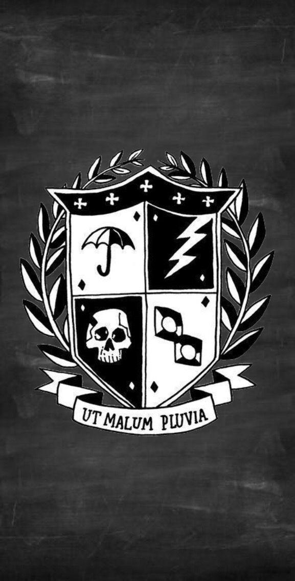 The Umbrella Academy Logo Wallpaper I Made Academy Logo Umbrella Academy
