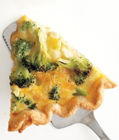 Broccoli Cheddar Quiche, Amazing!