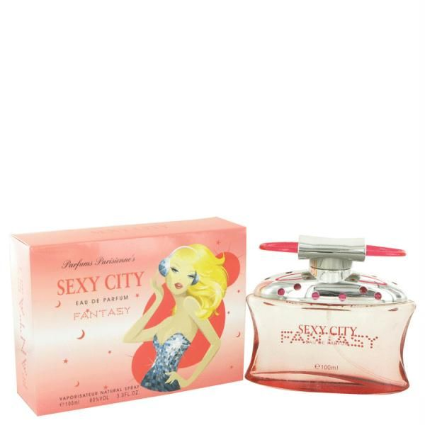 Sex In The City Fantasy by Unknown Eau De Parfum Spray (New Packaging) 3.4 oz      Model: FX497271     Shipping Weight: 0.2125lbs     Units in Stock: 500     Manufactured by: Unknown  $3.99