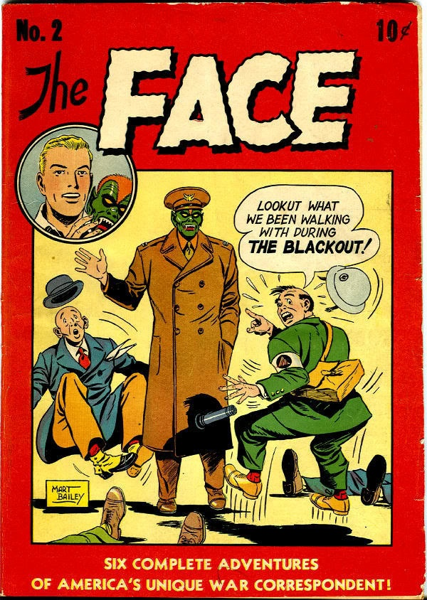 Vintage The Face comic book