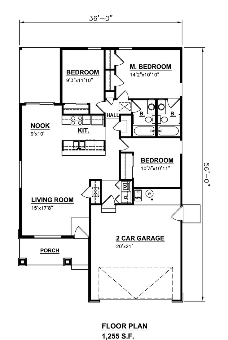192 best small house plans images on Pinterest | Small house plans ...