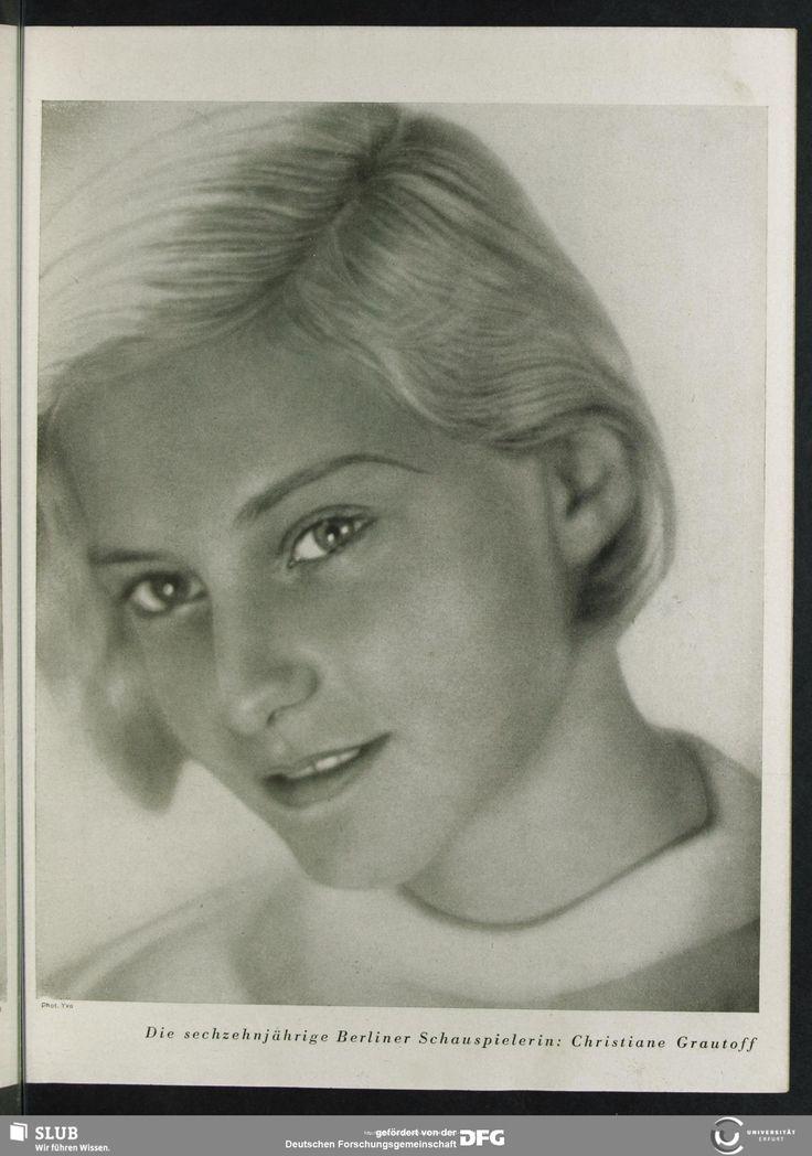 Christiane Grautoff, wife of Expressionist writer Ernst Toller