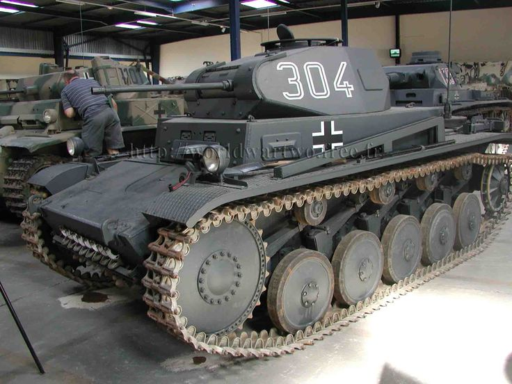 Panzer II | PANZERKAMPFWAGEN II