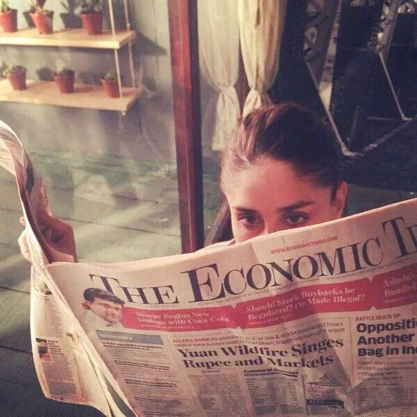 "Kareena Kapoor on the sets of ""KiandKa"""