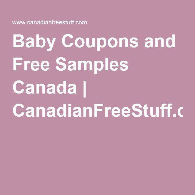 Free baby formula coupons by mail
