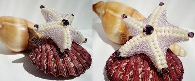 """Atelierul de creatie : Brosa cu cristale Swarovski """"Stea de Mare"""""""