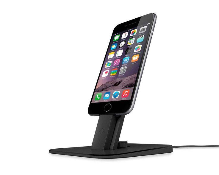 Twelve South HiRise Deluxe för iPhone & iPad - Svart | Macforum