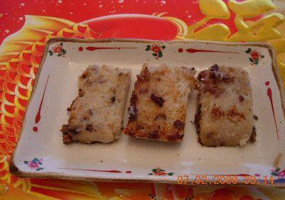 CNY Savory Turnip Pudding 蘿蔔糕