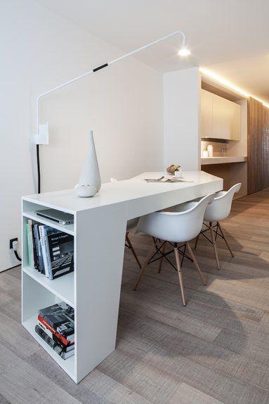 Loft MM - Bilzen, Belgium - 2012 - C.T. ARCHITECTS  #workspace #desk #design…