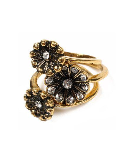 Antique Gold Kellianna Rings