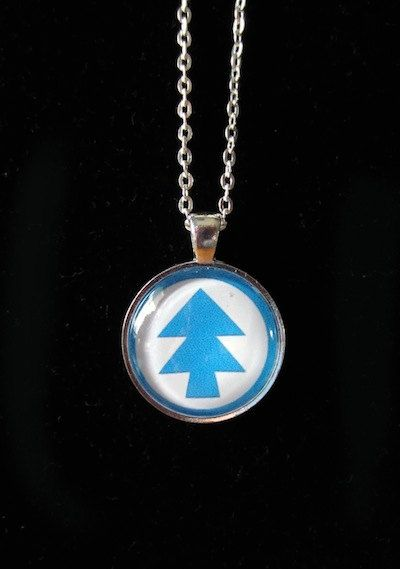 Gravity Falls Dipper Necklace by SteveHoltisCool on Etsy, $8.00