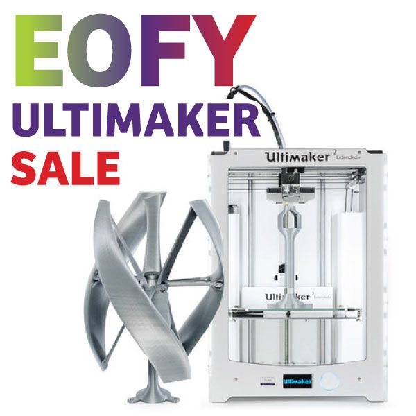 Our #Ultimaker #EOFY #Sale is here! Get up to $300 off selected Ultimaker 2 printers. Hurry! Ends 30th June 2016. #3dprinting