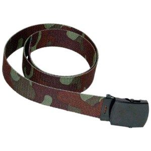 Every pair of army pants needs a belt, soldier!  With this Woodland Camo Belt, you'll have a complete uniform and dominate the battlefield! Free Shipping.