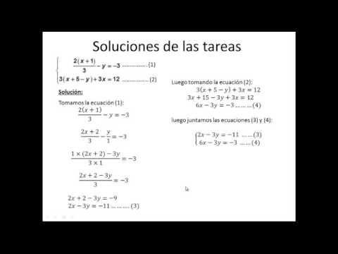 PROBLEMA DE SISTEMAS DE ECUACIONES LINEALES DE DOS VARIABLES