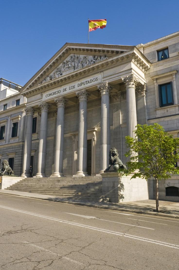 Foto Exterior del Congreso de los Diputados en Madrid