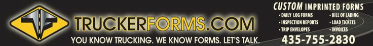 Truckerforms.com caters specifically to trucker's printing needs. Daily log forms, trip envelopes, bill of lading, customized load tickets,inspection reports are just some of the items we have to offer.  Check out the Forms Store today. If you don't see exactly what you need, we will create it for you.
