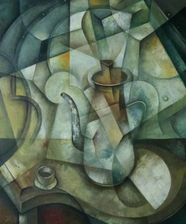 Still Life with Coffee Pot  by Eugene Ivanov, oil on canvas, 60 X 50 cm, 1140 usd. #eugeneivanov #@eugene_1_ivanov #modern #original #oil #oil #painting #sale #hipster #art_for_sale #original_art_for_sale #modern_art_for_sale #canvas_art_for_sale #art_for_sale_artworks #art_for_sale_water_colors #art_for_sale_artist #art_for_sale_eugene_ivanov #abstract #best_abstract_art