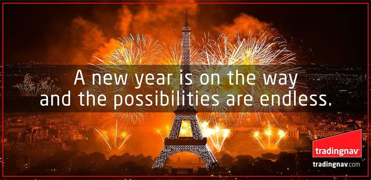 A new year is on the way and the possibilities are endless.  #HappyNewYear #tradingnav