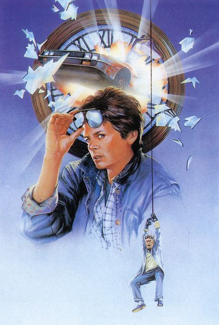 Marty McFly & Dr. Emmett Brown (Michael J Fox & Christopher Lloyd) - Back To The Future