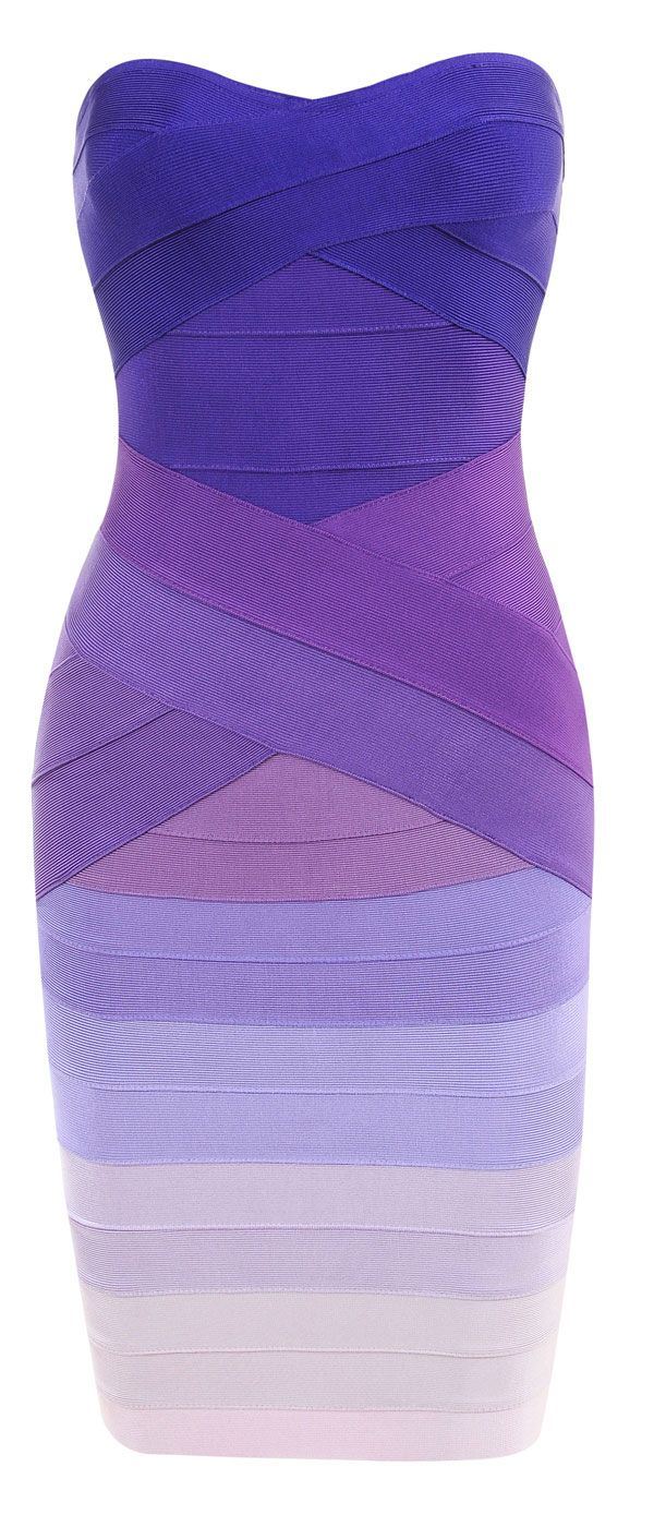 Get this beautiful purple gradient bandage dress, just added today  www.priveclothing.com