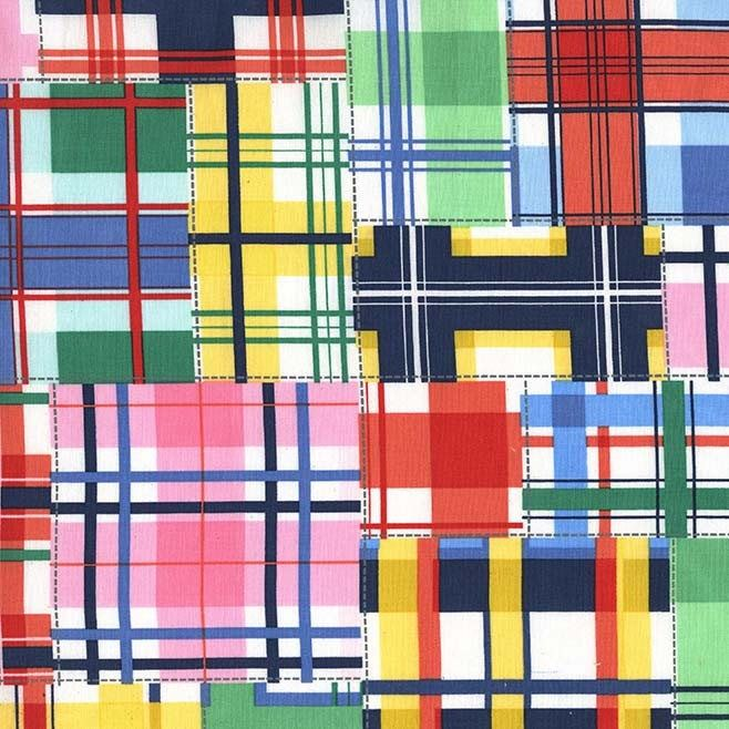 Excited to share the latest addition to my #etsy shop: Madras Patch - Summer -  Cotton Fabric - Michael Miller Fabrics #supplies #sewing #cottonfabric