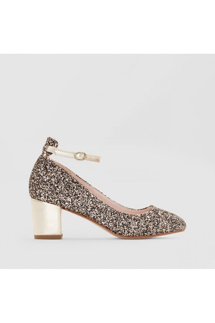 Pantofi cu toc MADEMOISELLE R 4500326 Auriu