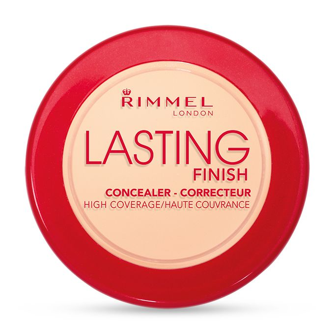 Rimmel London UK Lasting Finish Concealer (Shade: Porcelain) £? : 2-in-1 High Coverage Long Wear Concealer. Hides dark circles and other imperfections for up to 25 hours. Targeted application, under the eyes, over blemishes, wherever. Breathable formula, so the coverage remains comfortable from morning to night