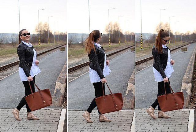 Boyfriend shirt by Francebaby #modino_style #francebaby #boyfriendshirt #style #spring #outfit #fashion