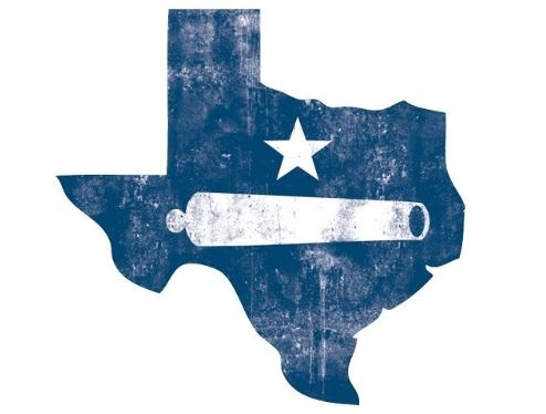 Thinking of this general idea for a tat ... different colors, but with the Come and Take It flag inside the outline of Texas.....