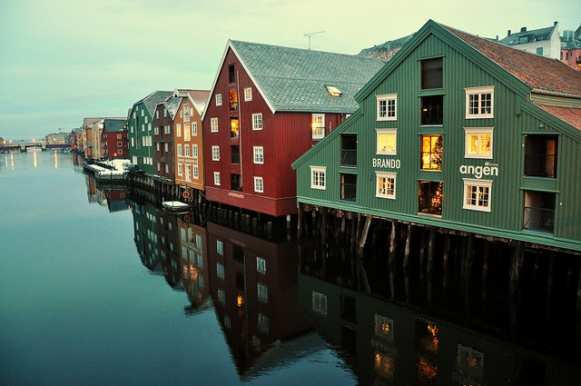 Trondheim, Norway. I hope I get to visit the homeland someday.